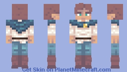 Jay Castoff, Leader of the Wolf Band. (I made an OC???) Minecraft Skin