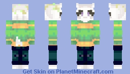 Israel Dreemurr (My UT OC/parallel World) Minecraft Skin