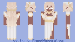 The Empyrean: Celestia | LF | 𝔻𝕃 Minecraft Skin