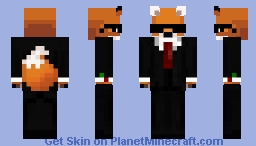 Party Fox(Party Animal, Female) Minecraft Skin
