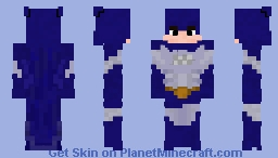 BatMite (Without Teeth) (DC Comics) Minecraft Skin