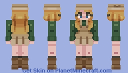 Old-Timey Dress- My Animal Crossing Character's Outfit Minecraft Skin