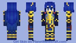 Legendary Lucina FE Heroes Minecraft Skin