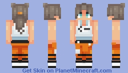 still alive (first skin remake) Minecraft Skin