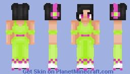 "|| ""Retro Roller Girl 2.0"" || Minecraft Skin"