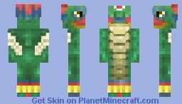 Baby Quetzalcóatl Minecraft Skin
