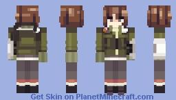 SMT protagonist Minecraft Skin