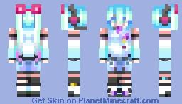 furidashita natsu no ame ga Minecraft Skin