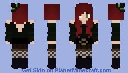 Ebony, My Witch OC Minecraft Skin