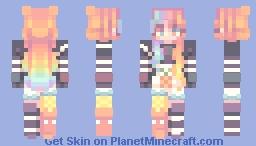 iris ; oc 🌈 Minecraft Skin