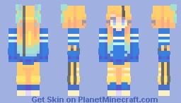 violet snow Minecraft Skin