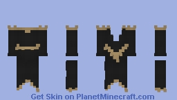 Dark Robe Minecraft Skin