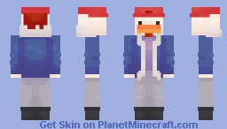 chickenpox93 (skin fight attack) ;) Minecraft Skin