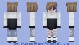 Blue Skies (Boy Version) ~ SoulBlade Minecraft Skin