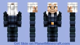 Netflix Geralt (no shoulder pads) Minecraft Skin