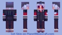 Norton Campbell | Identity V (vampire skin) Minecraft Skin