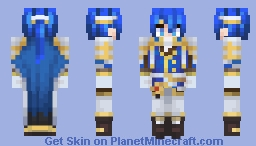 Seliph, Scion of Light - Fire Emblem: Genealogy of the Holy War Minecraft Skin