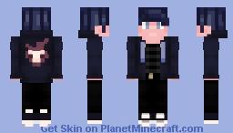 *+:。.。 𝒻𝑒𝑒𝓁𝒾𝓃𝑔 𝒷𝓁𝓊𝑒 。.。:+* Minecraft Skin