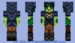 Floran Hunter/Huntress Minecraft Skin