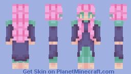 In this world of white noise | remake Minecraft Skin
