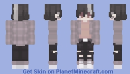 sorry for not being active as of late Minecraft Skin