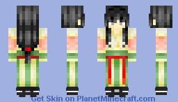 Hanfu-Fei Tian Yue Minecraft Skin