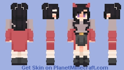 skin fight!! // devil_eggpuffs Minecraft Skin