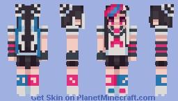 [ ibuki mioda ] - danganronpa Minecraft Skin