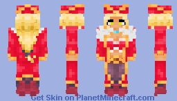 Annie D. Red Dawn Minecraft Skin