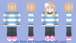 """Revamp of """"A Simple Skin"""" + A Drawing Minecraft Skin"""