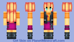 Sunset Shimmer - My Little Pony Equestria /Request Minecraft Skin
