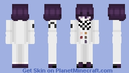Kokichi Ouma Minecraft Skin