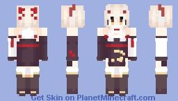 Azur Lane / Ayanami [Lunar Demon] Minecraft Skin