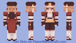 ⇝❝We can do this together.❞ Minecraft Skin