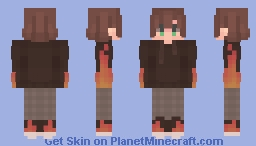 ~ dude with flame shoes ~ Minecraft Skin