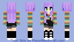 Hippie   Her Last Words Minecraft Skin