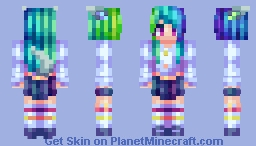 i put pixels together after 3 years Minecraft Skin