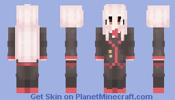 Onii-chan wa Oshimai! / Mahiro, again. (but this time school outfit! and also slightly new shading style!) Minecraft Skin