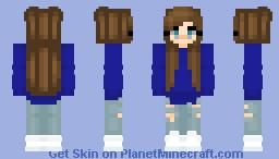 ~Blue Summer Evenings~ Minecraft Skin
