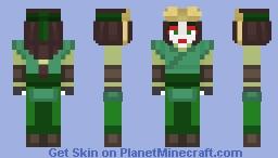 Avatar Kyoshi | Avatar: The Last Airbender Minecraft Skin