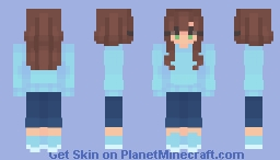 ~ wake me when its over ~ Minecraft Skin