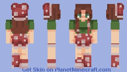 The land of magical mushrooms ~ sf Minecraft Skin
