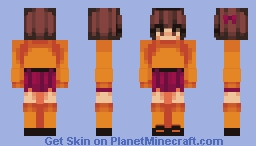 Velma | Mystery Incorporated Minecraft Skin