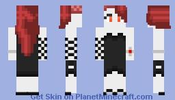 Fallen Aasimar Minecraft Skin