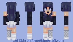 Winter Moon ~ sf/fs ~ SoulBlade Minecraft Skin