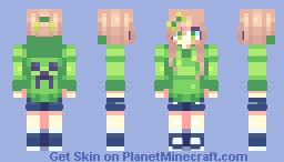 Creeper AW MANNNN Minecraft Skin