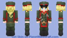 Tanya von Degurechaff (Youjo Senki) Minecraft Skin