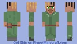 Areumadlol skin recolor (green) Minecraft Skin
