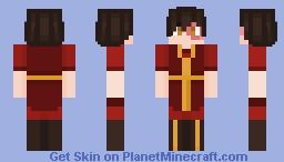 Prince Zuko | Avatar: The Last Airbender Minecraft Skin