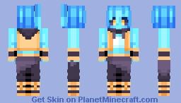 Nephele - Sweet Sub Zero Security / Request Minecraft Skin
